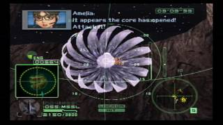 """Airforce Delta Strike - Phase 13 - Mission 28 & 29: """"OCE"""" Mother Ship & Inside (extra mission)"""