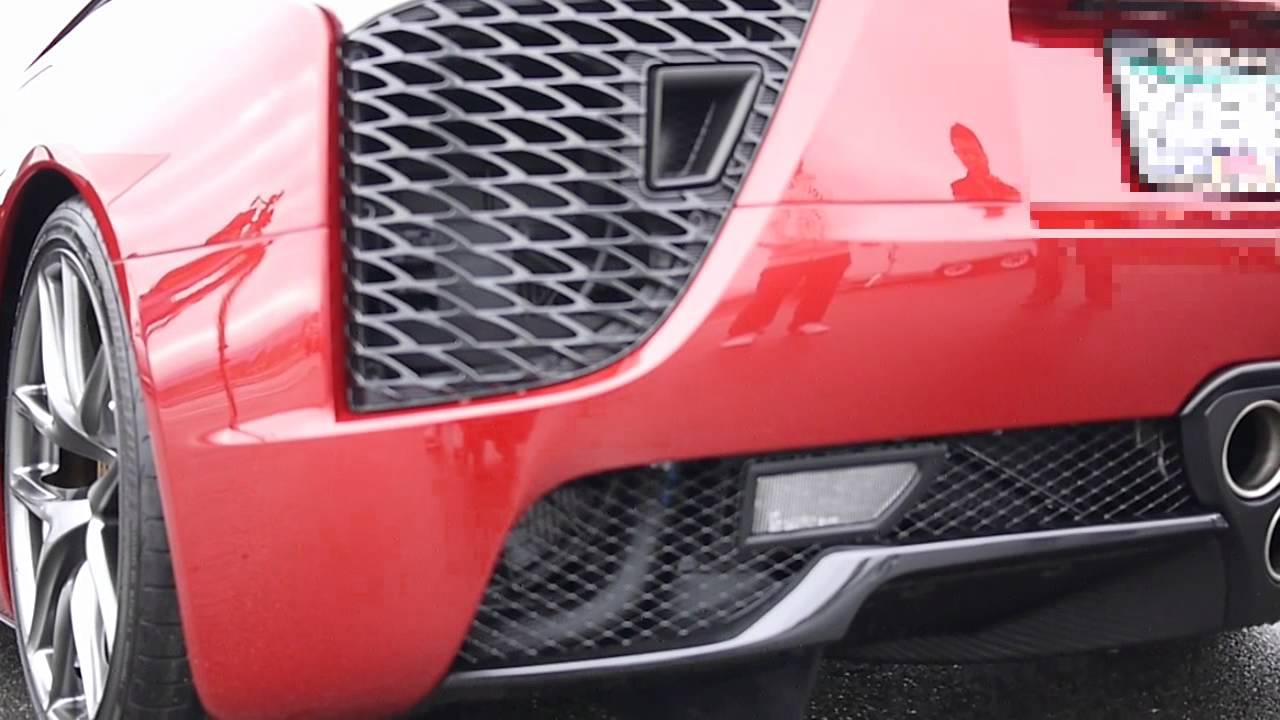 2012 lexus lfa engine exhaust sound symphony - youtube