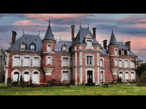 Derelict, Abandoned 18th Century Fairy Tale Castle ~ Everything Left Behind!