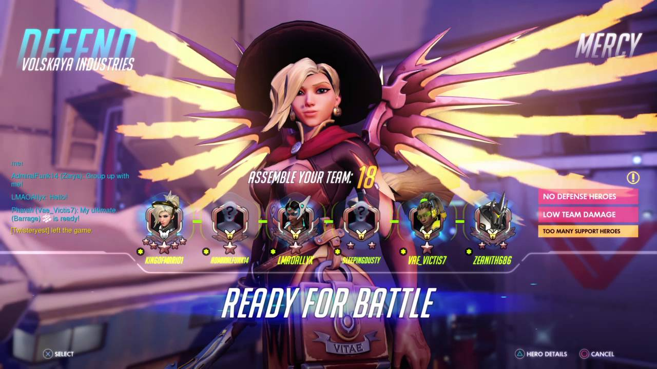 Overwatch Mercy Competitive Gameplay (Halloween Mercy skin Woo ...