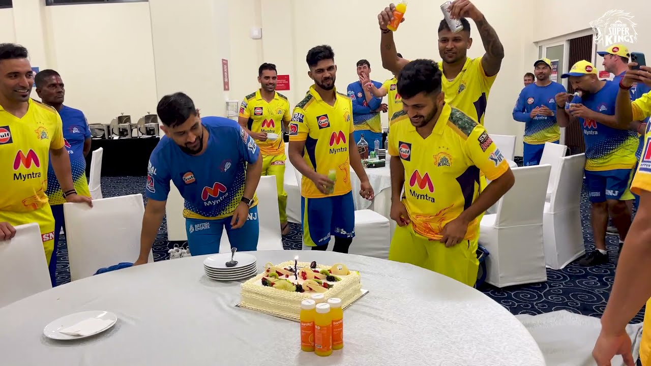 Oh Sher Dhool It's Your Birthday 🎶   Shardul Thakur