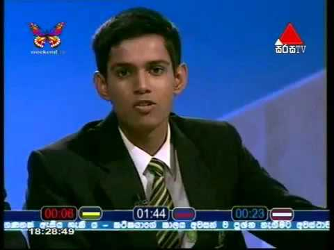 The Debater Sri Sumangala College 3