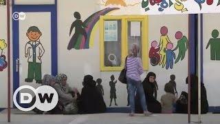 Suriye sınırında kadın pazarı - DW Türkçe