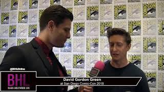 David Gordon Green (Halloween) | San Diego Comic-Con 2018