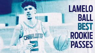 LaMelo Ball: Best passes from incredible rookie season