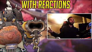TILTING A TWITCH STREAMER WITH MY ROADHOG! w/ reactions (Overwatch)