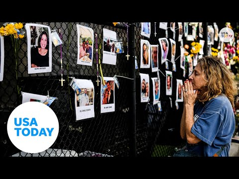 Surfside condo collapse victims remembered with a tribute wall | USA TODAY
