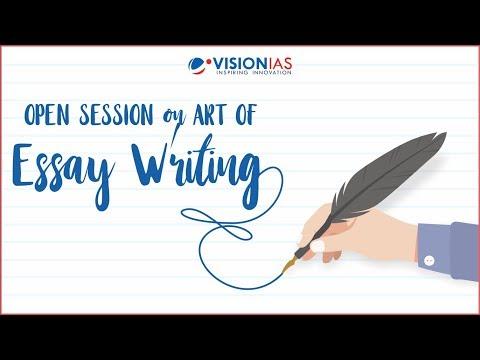 Art of Essay Writing for UPSC IAS Mains 2018