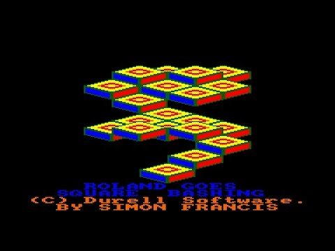 Roland Goes Square Bashing Review for the Amstrad CPC by John Gage
