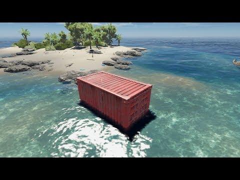 荒岛求生31:我发现一个大空投,里面竟然有个宝箱