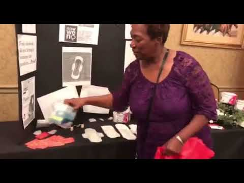 Cherish Premium Sanitary Napkins Demo