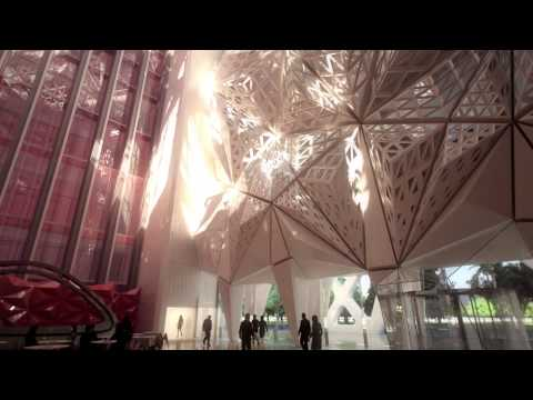 Zaha Hadid Architects - City of Dreams Hotel Tower Macau