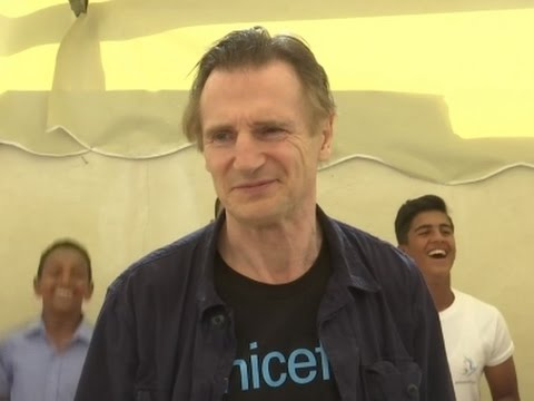 Neeson gives back in Jordan