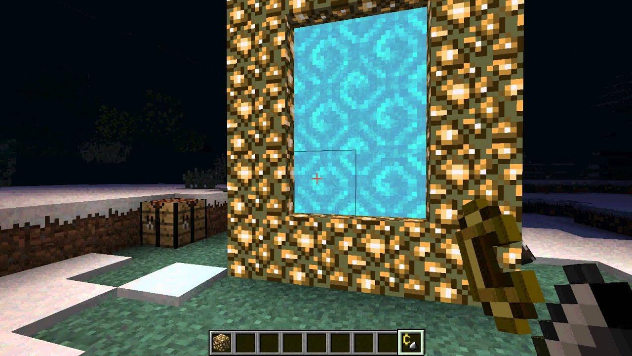 все об игре майнкрафт как сделать порталы в рай #4