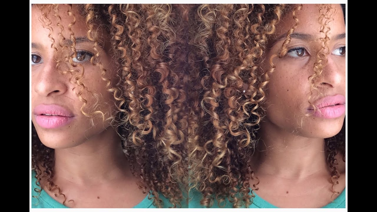Mascarilla para nutrir el pelo rizado