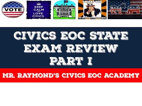 Civics EOC State Exam Review Part I