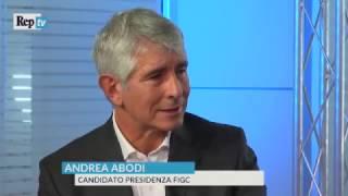 Federcalcio, stadi, il futuro dei campionati: videoforum con Andrea Abodi