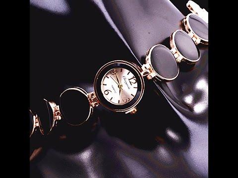 Обзор, часы женские, браслет, Chaoyada, кварцевые, аксессуары,Aliexpress, Women Bracelet  Watch