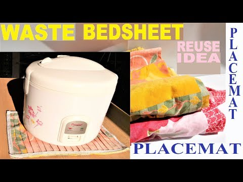Best use of old Bed sheet | Old cloth reuse idea | DIY art and craft