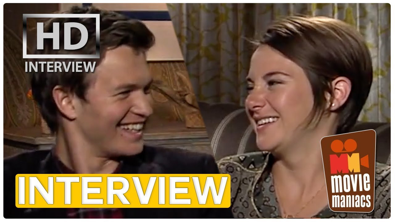 shailene woodley and ansel elgort dating interview
