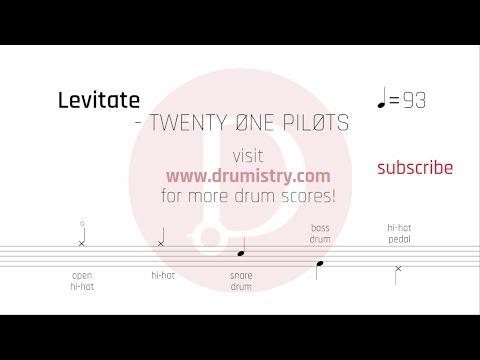 Twenty One Pilots - Levitate Drum Score