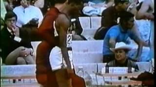 мировой рекорд в прыжке в длину Боба Бимона - 8,90 метра...