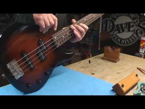 Yamaha Bass Guitar Setup