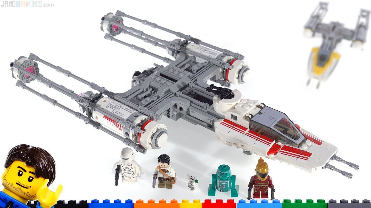 Lego Star Wars Resistance Y Wing Quick Review Comparison Thoughts More 75249 Youtube