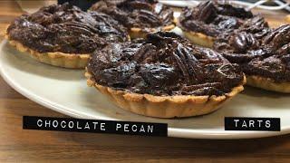 Безглютеиновые шоколадные тарты с орехом пекан | Grain/gluten free Chocolate pecan tarts| Vera B
