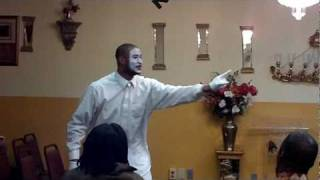 Aaron Betts Mimes to I Need You Now By Smokie Norful ( Praise Dance)
