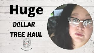 HUGE Dollar Tree Haul | Great Finds | LONG Video | Rare for me! #dollartree #haul