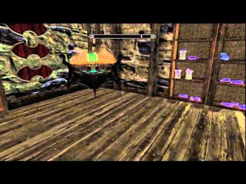 Skyrim: Fully upgraded house in Windhelm (Hjerim)
