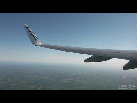 Ryanair FR5172 London Stansted (STN) - Billund (BLL) *FULL FLIGHT* Boeing 737-800 EI-EVV 6/6/15