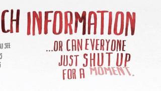 Dave Gorman Too Much Information Book Trailer