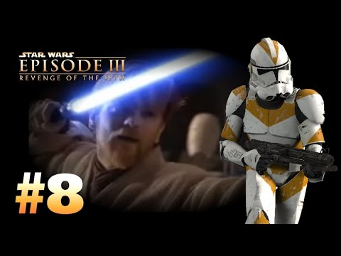 Star Wars Episode 3: Revenge Of The Sith (PS2) Walkthrough: Part 8 - The Cavalry Arrives