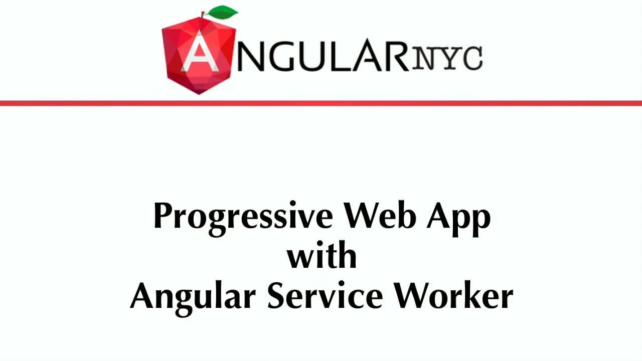 Angular Service Worker Update