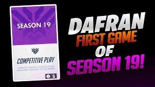 Dafran First DPS Game Of Season 19! - Overwatch