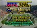 1982-12-18 Los Angeles Raiders vs Los Angeles Rams(Marcus Allen gets 3 TDs)