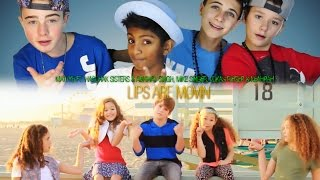 Meghan Trainor - Lips Are Movin(MattyB ft. Haschak Sisters & The Clique cover)