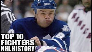 Top 10 Best NHL Fighters Ever