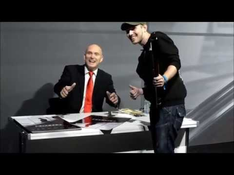 David Bateson the voice of Agent 47 meeting  EGX Hitman Booth 2015