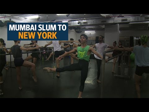 Indian teen pirouettes from Mumbai slum to US ballet school