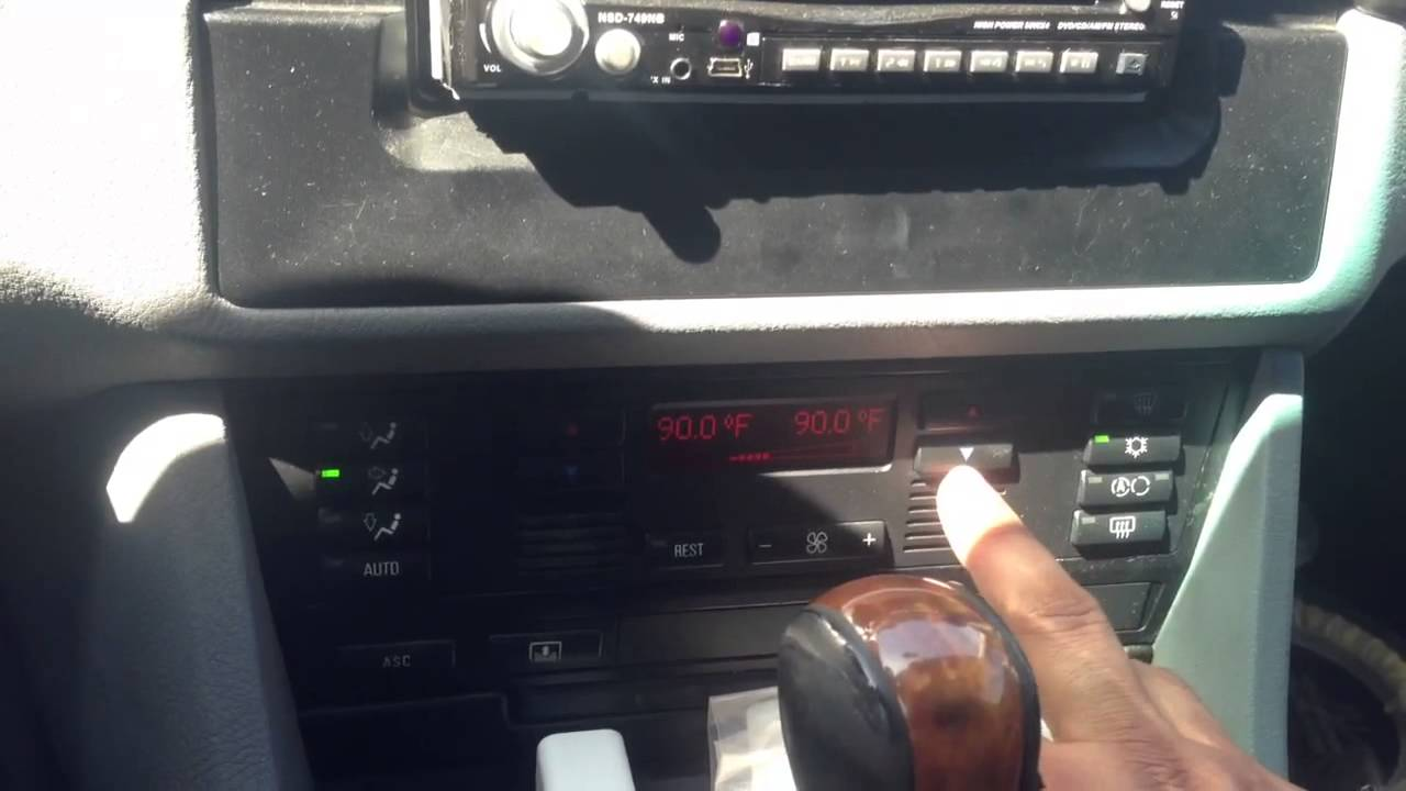 Tip On Climate Control Hot And Cold 97 03 Bmw 5 Series E39