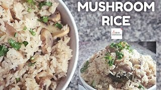 Mushroom Rice Recipe in 20 Minutes | Instant Lunchbox Variety Rice Recipes | DiviCookHouse