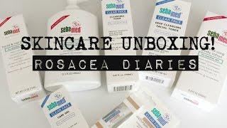 Sebamed Skincare Unboxing! | Acne and Sensitive Skin | Rosacea Diaries