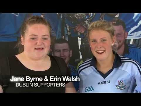 Jane Byrne & Erin Walsh #TrueBlue Dublin Fans