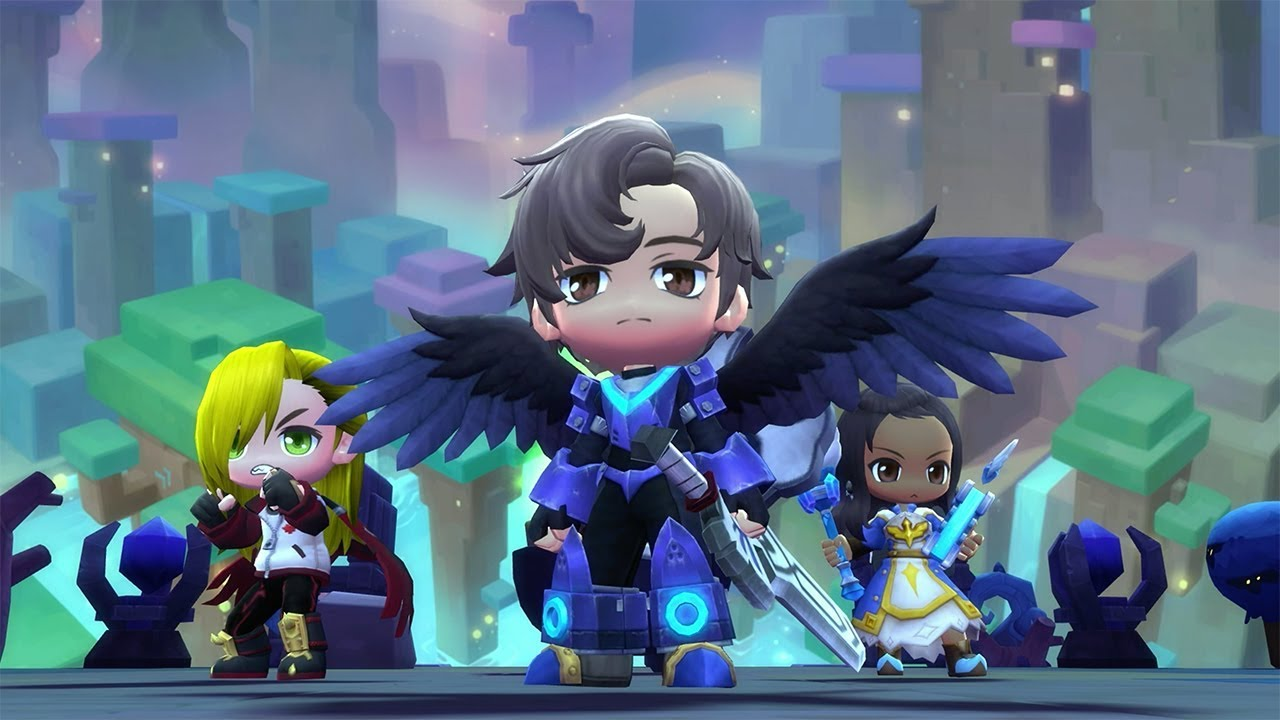 MapleStory 2' Launch Trailer Showcases Colorful New World