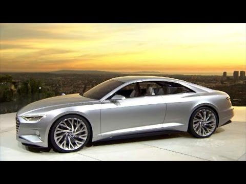 Audi Concept Studie A9 Prologue Youtube