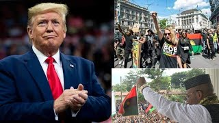 Donald Trump finally speak on why he couldn't bring Biafra, reveals heavy secret. support ESN fast