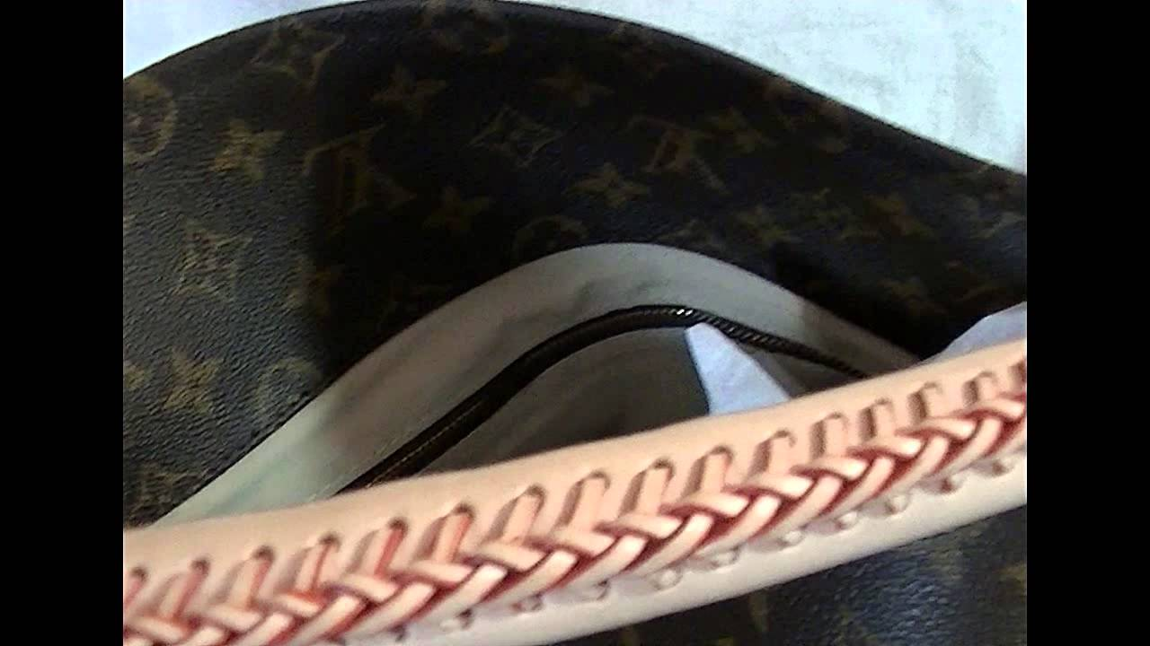 37399b42f9bc LOUIS VUITTON Monogram Artsy GM with Authenticity Papers - YouTube